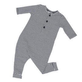 Kruippakjes Baby | Playsuit Navy Stripes