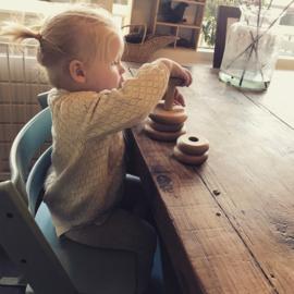 #houtenspeelgoed #houtenpuzzel #poppylola #educatief #fijnemotoriek #hout #duurzaamhout #babyspeelgoed #handgemaakt #stapelpyramide #houtenstapelpyramide