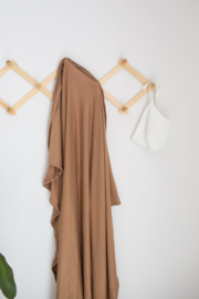 Stretched Swaddle Blanket | Mustard