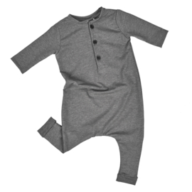 "PLAYSUIT ""GREY MELANGE"""
