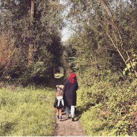 #familylife #intothewoods #rozehaaristof #konijnenorenook
