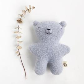 #beer #knuffelbeer #eersteknuffeltje #kraamcadeau #babyblauw