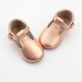 Babyschoentje met flexibele zool Roze