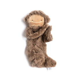 Slumberskins | Knuffeldoekje | Bigfoot Silken Brown