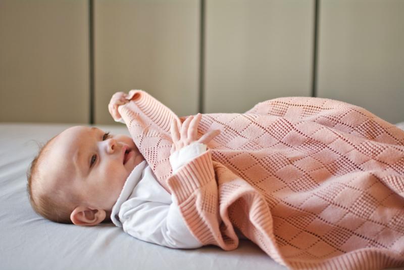 Babydeken Ledikant | Peach