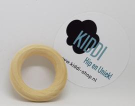Houten ring 50mm