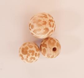 Kraal met luipaardprint - per stuk