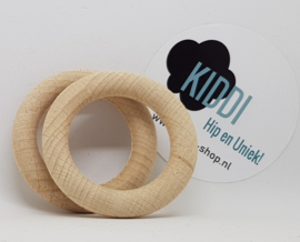 Houten ring beuken 55mm