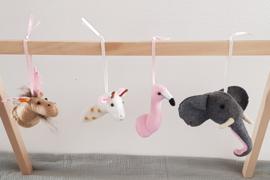 Hangers dierenhoofden