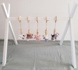 Babygym 5 dieren TIPI