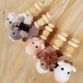 Hangers (5) dieren/figuren