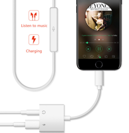 Lightning   AUX Audio Duo   Adapter