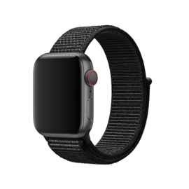 Nylon Sport Loop | Zwart
