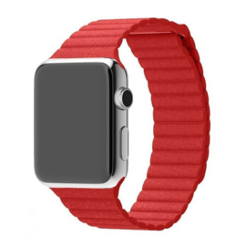 PU Leather Loop | Rood