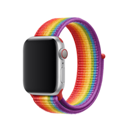 Nylon Sport Loop | Rainbow Pride