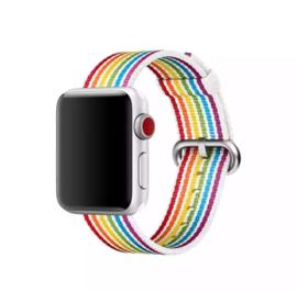 Nylon bandje | Rainbow Pride