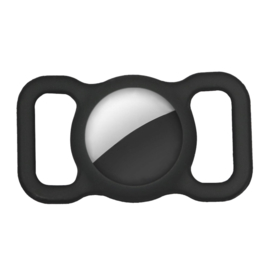 AirTag Halsband houder Zwart