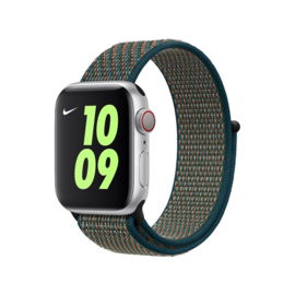Nylon Sport Loop | Hyper Crimson/Neptune Green