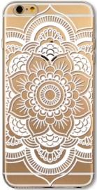 Mandala Henna Wit