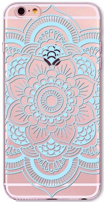 Mandala Henna Blauw