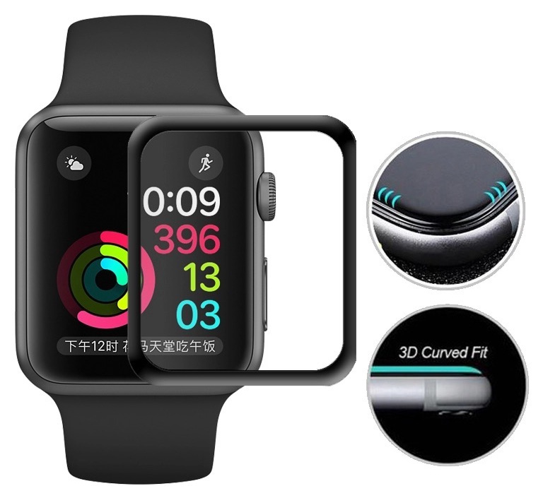 Apple Watch Glass Curved Fit