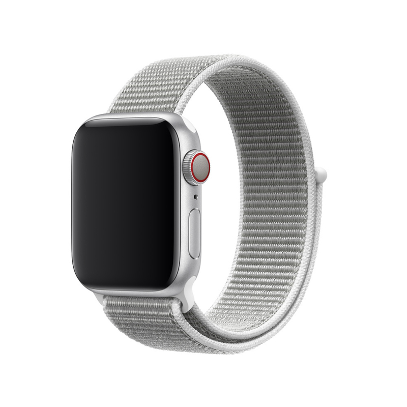 Nylon Sport Loop | Schelpen Wit