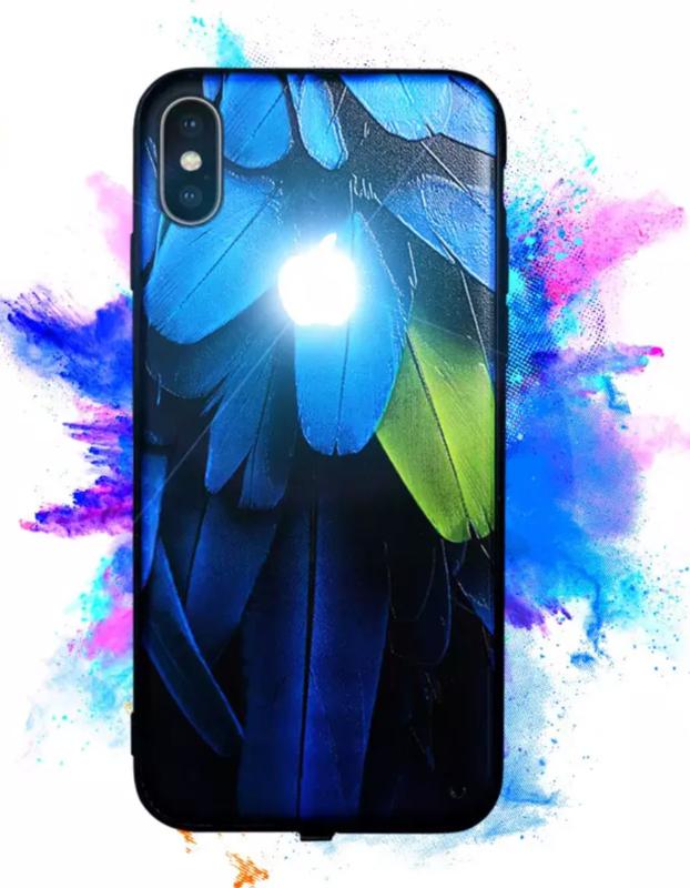 iPhone LED Logo Case