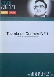 Trombone Quartet no. 1 - Steven Verhelst