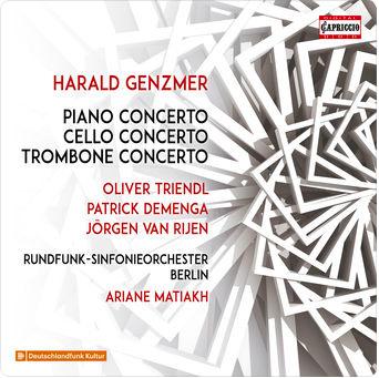 Harald Genzmer - Rundfunk-Sinfonieorchester Berlin, Jörgen van Rijen