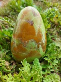 Groen opaal sculptuur