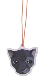Gift-tag zwarte panter