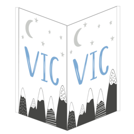 Geboortebord Vic