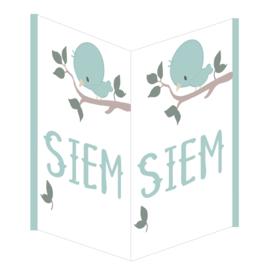 Geboortebord Siem