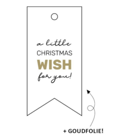 Label christmas wish