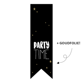 "Sticker ""Party time"""