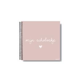 Echoboek (roze)