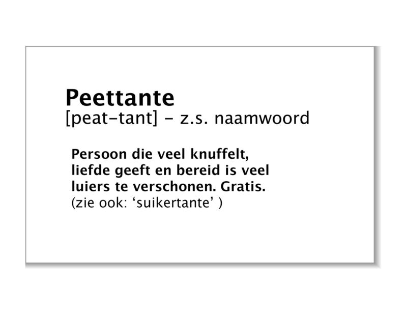 Peettante (limburgs)