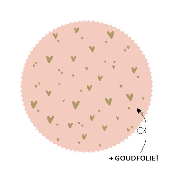 """Sticker """"Roze hartjes"""""""