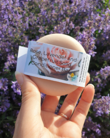 Roos, Lavendel and Grapefruit Conditioner bar