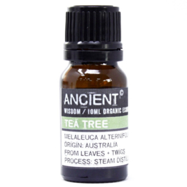 Organic Tea Tree Etherische Olie