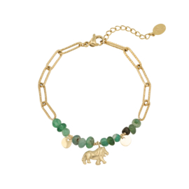 Green Jungle armband