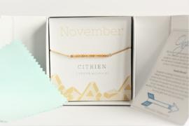 November Birthstone