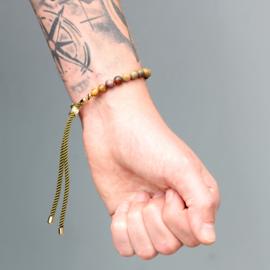 Jaspis Touw Armband