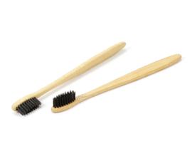 Bamboe Tandenborstel Zwart