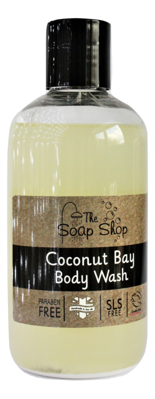 Coconut bay body wash