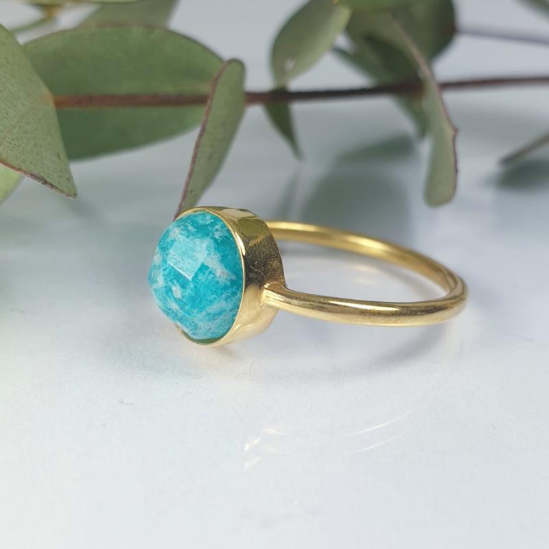 Amazoniet Ring