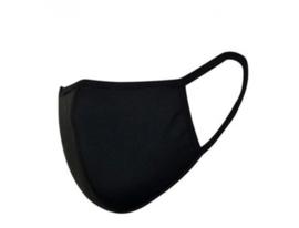 Mondkapje - Zwart basic