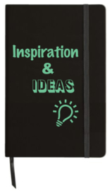 Notitieboekje 'Inspiration and ideas'
