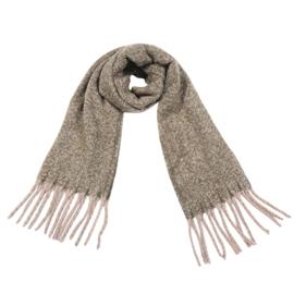 Sjaal soft fall - Bruin