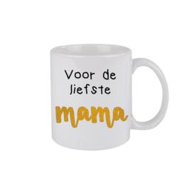 Liefste mama - goud/oranje